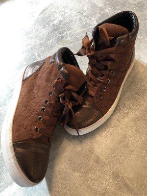 JOOP! Sneakers Gr 39, braun/bronze KP 160€