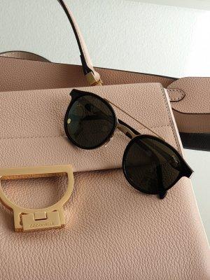 Joop! Owalne okulary przeciwsłoneczne czarny-złoto