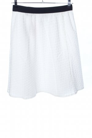 Joop! Lace Skirt white-black allover print casual look