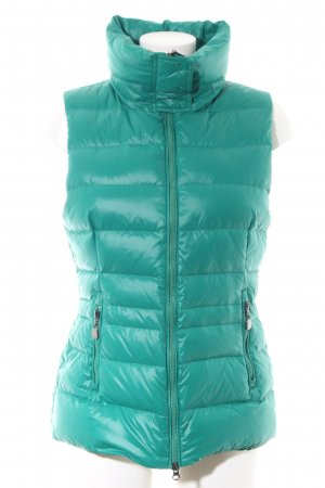 Joop! Quilted Gilet turquoise quilting pattern casual look