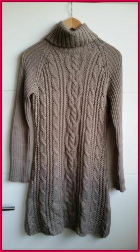 Joop! Vestido de lana marrón grisáceo