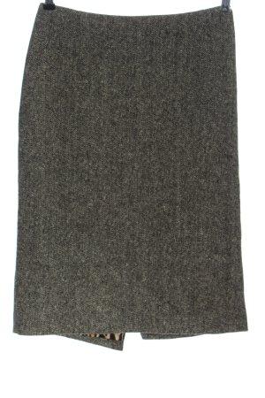 Joop! Falda de punto negro-blanco puro Patrón de tejido look casual
