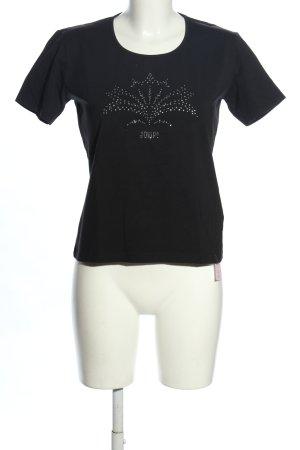 Joop! Strickshirt schwarz Casual-Look
