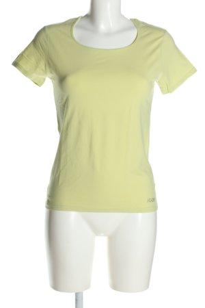 Joop! Camiseta amarillo pálido look casual