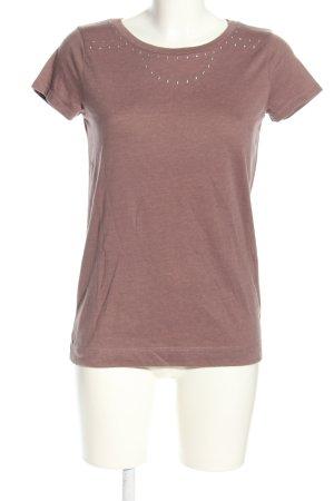 Joop! T-Shirt braun meliert Casual-Look
