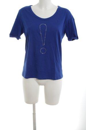 Joop! T-Shirt blau Casual-Look