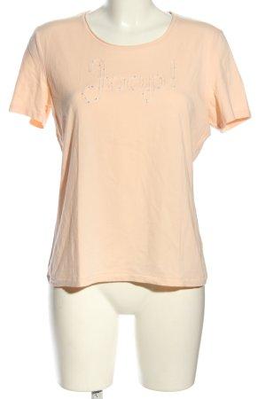 Joop! T-shirt rose chair lettrage brodé style décontracté