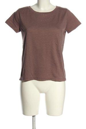 Joop! T-Shirt braun Casual-Look