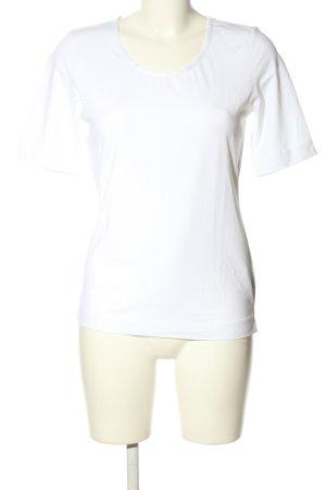 Joop! T-Shirt weiß Schriftzug gedruckt Casual-Look