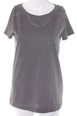 Joop! T-Shirt grau Casual-Look