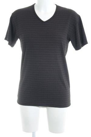 Joop! T-Shirt taupe-dunkelbraun Karomuster