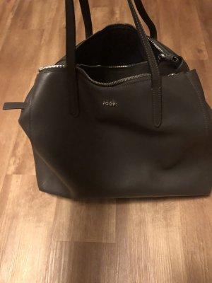 Joop! Carry Bag dark grey-anthracite leather