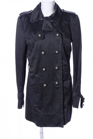 Joop! Trenchcoat schwarz Casual-Look