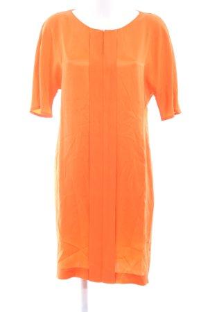 Joop! Vestido tipo túnica naranja claro look casual