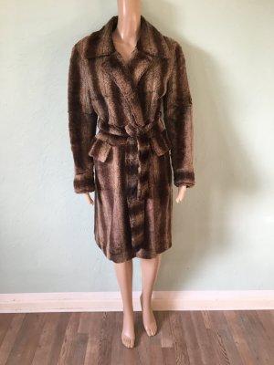 Joop! Vintage Mantel Kunstfell Fake Fur