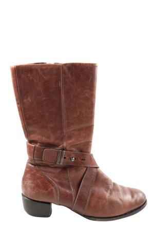 Joop! Wide Calf Boots brown casual look