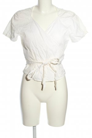 Joop! Wraparound Blouse white casual look