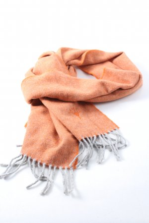 Joop! Woolen Scarf light orange casual look