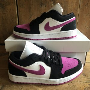 Jordan 1 Low Cactus Flower US6.5W EU37.5 Neu Sneaker Nike Pink Schuh DS