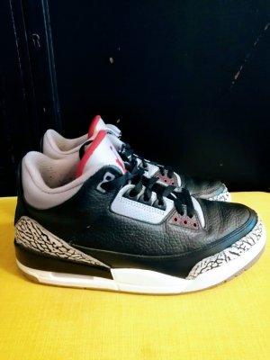 Air Jordan Sznurowane trampki czarny-szary