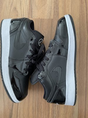 Air Jordan Sznurowane trampki czarny-biały
