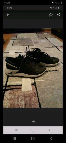 Air Jordan Sznurowane trampki biały-czarny