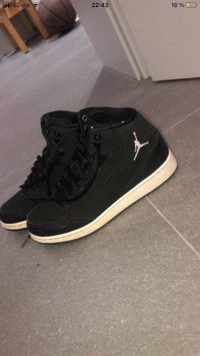 Air Jordan Wysokie trampki czarny-biały