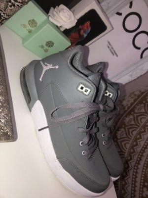 Air Jordan Basket à lacet gris clair-gris