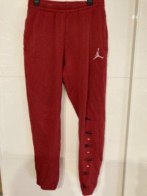 Jordan Jogginghose rot