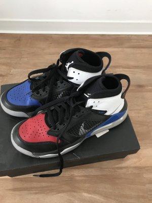 Air Jordan Zapatilla brogue rojo-azul