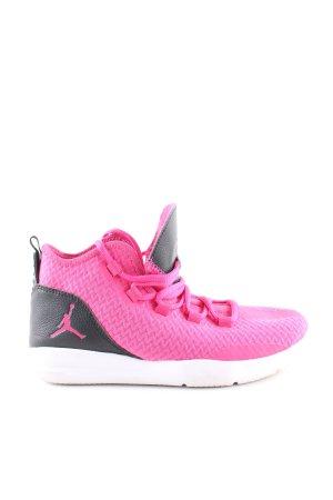 Jordan Schnürsneaker pink-hellgrau Casual-Look