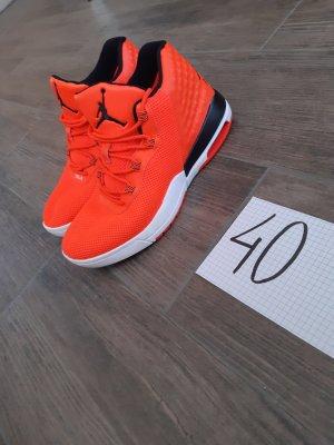 Jordan Schuhe Sneaker Neon Orange