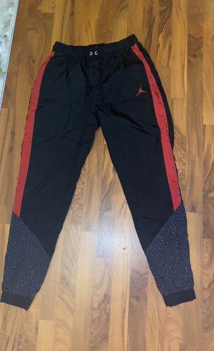 Air Jordan Baggy Pants black-dark red