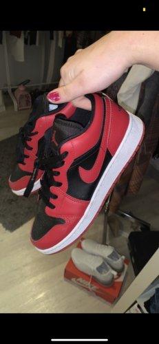 Air Jordan High top sneaker donkerrood-zwart