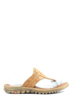 Josef seibel Flip flop sandalen bruin casual uitstraling