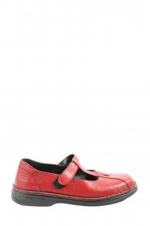 Josef seibel Mary Jane Halbschuhe rot Casual-Look