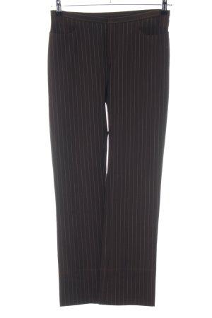 Joseph Anzughose schwarz-weiß Streifenmuster Business-Look