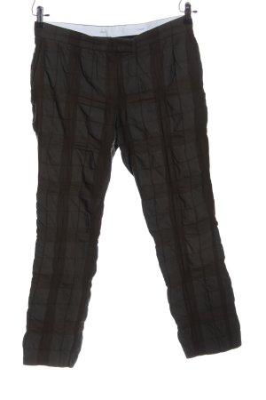 Joseph Baggy Pants braun-hellgrau Karomuster Casual-Look