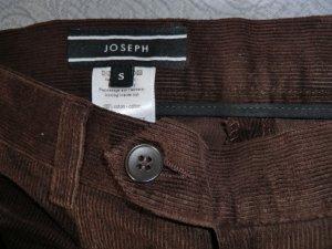 Joseph Pantalon en velours côtelé brun-brun noir coton