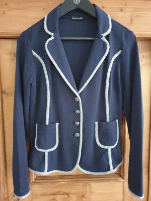 Joseph Janard Knitted Blazer blue