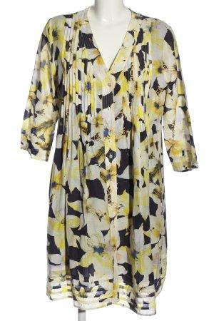 Joseph Janard Robe chemise motif de fleur style décontracté