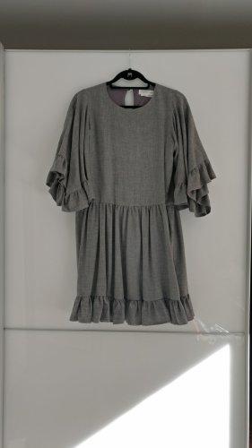 Joseph Janard Robe en laine gris clair-gris