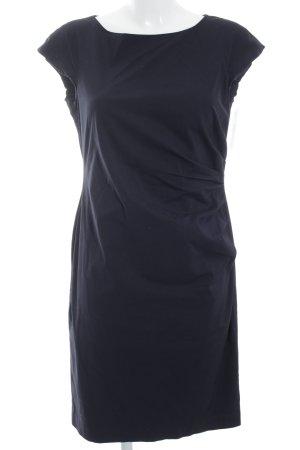 Joseph Janard Kurzarmkleid schwarz-dunkelblau Elegant