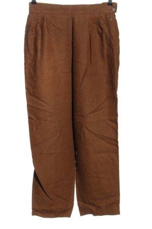 Joseph Janard Linnen broek bruin casual uitstraling