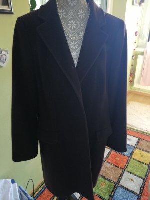 Joseph Janard Short Coat brown-cognac-coloured angora wool