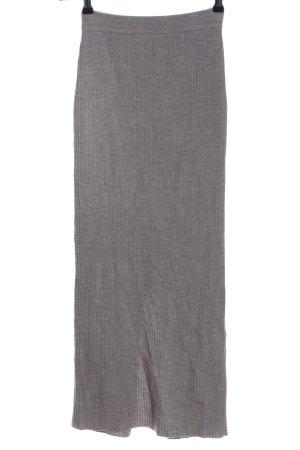 Joseph Janard Knitted Skirt light grey casual look