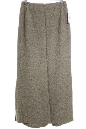 Joseph Janard Falda de lana marrón claro-gris verdoso degradado de color