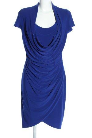 Joseph Ribkoff Jerseykleid blau Elegant