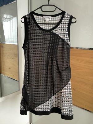 Joseph Ribkoff Midi Dress black-white