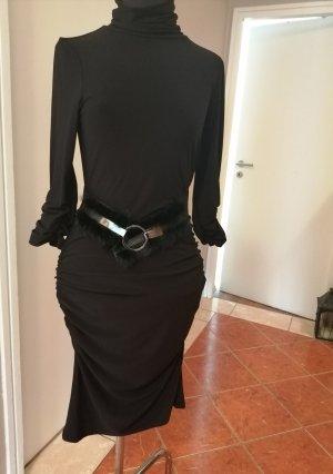Joseph Ribkoff Sheath Dress black mixture fibre